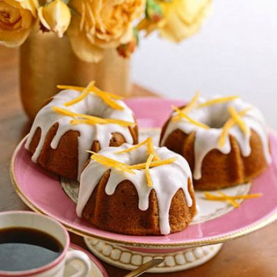 Mini Fig Bundt Cakes