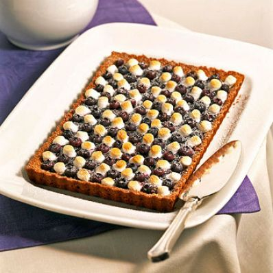 Blueberry Checker Tart