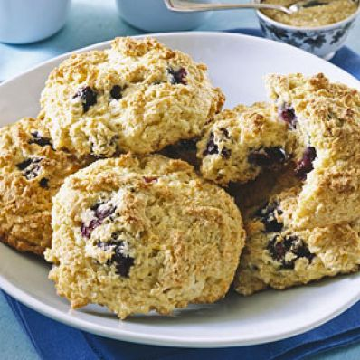 Blueberry-Orange Scones