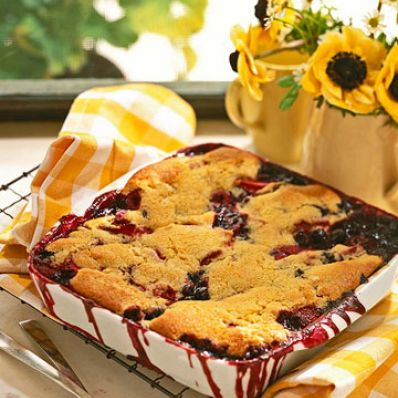 Mixed Berry Cobblers