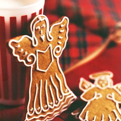 Molasses Angel Cookies