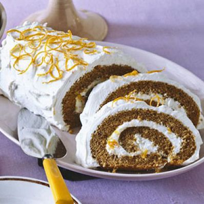 Brown Sugar Cake Roll
