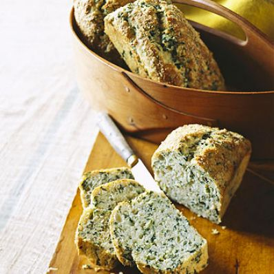 Spinach-Parmesan Loaves