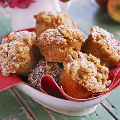 Streusel-Topped Apple Muffins