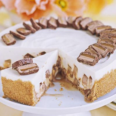 Candy-Bar Cheesecake
