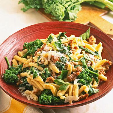 Cavatelli with Broccoli Rabe