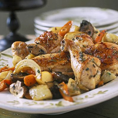 Country-Style Chicken And Vegetables