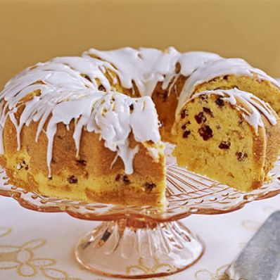 Cranberry Orange Bundt