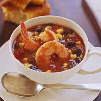 Quick Shrimp and Corn Chowder