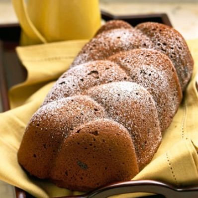 Chocolate-Applesauce Bread