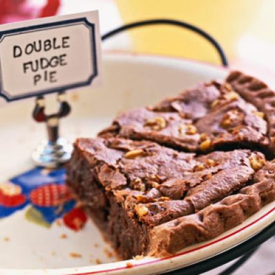 Double Fudge Pie