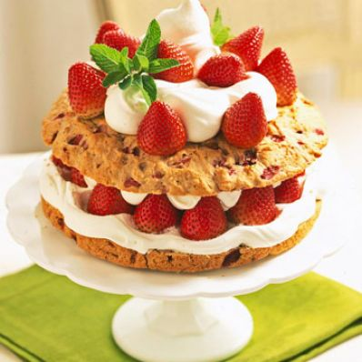 Double Strawberry Shortcake
