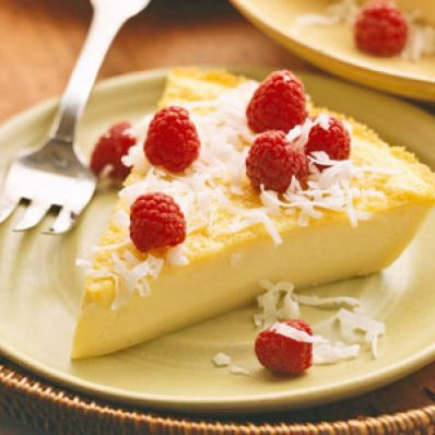 Easy-Blender Coconut Pie