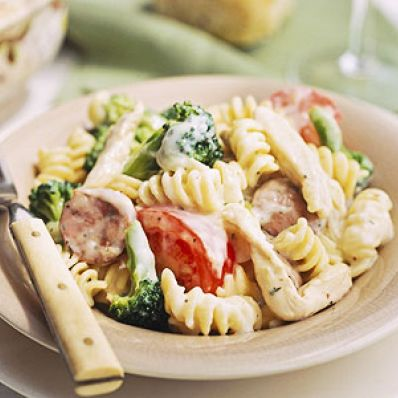 Chicken-Broccoli Alfredo