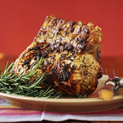 Loin of Pork with Lemon-Rosemary Rub