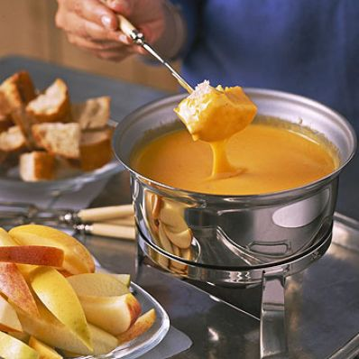 Colby Cheese Fondue