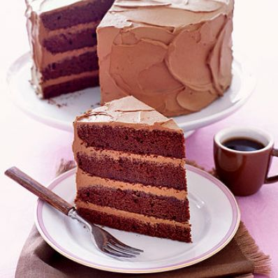 Devil's Food Layer Cake