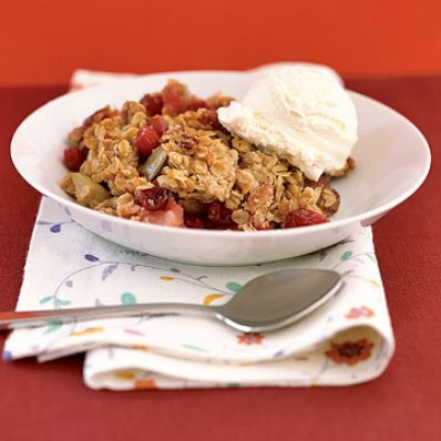 Cranberry-Apple Bake