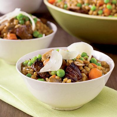 Beef and Barley Risotto