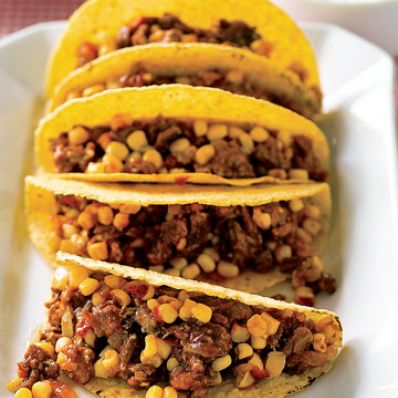 Turkey Picadillo Tacos