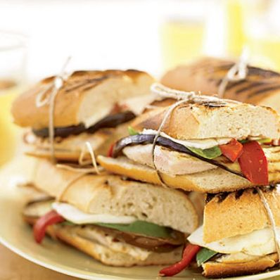 Chicken & Veggie Panini