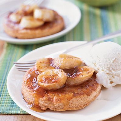 Caramelized Banana Tart