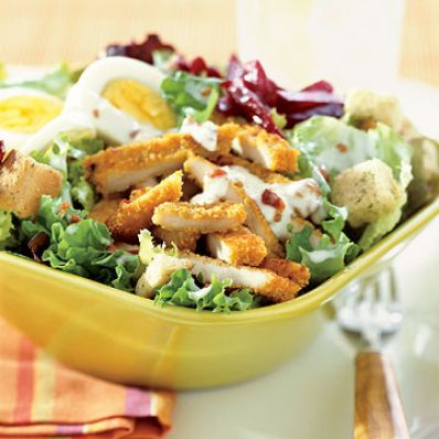 Crispy Turkey Cobb Salad