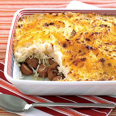 Hearty Hot Dog Casserole