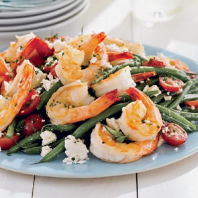 Green Bean & Shrimp Salad