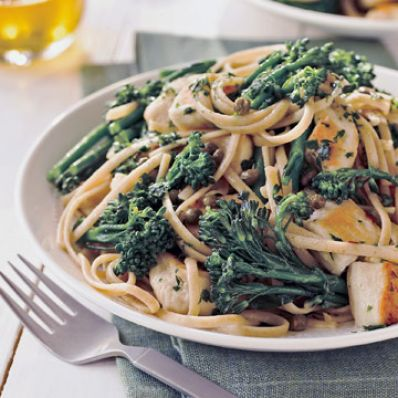 Chicken and Broccolini Aglio E Olio