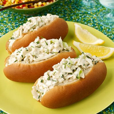 Crab Roll & Corn Salad