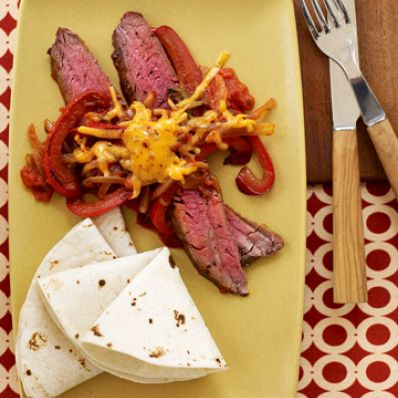 Southwest Steak and Peppers