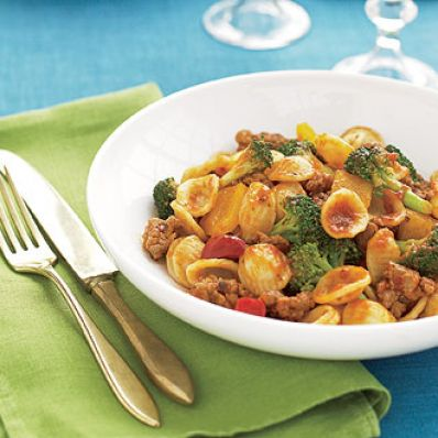 Sausage and Orecchiette