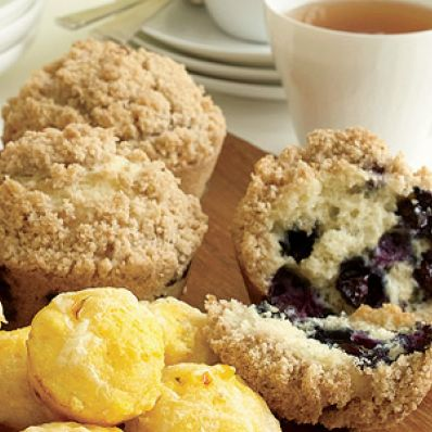 Blueberry-Crumb Muffins