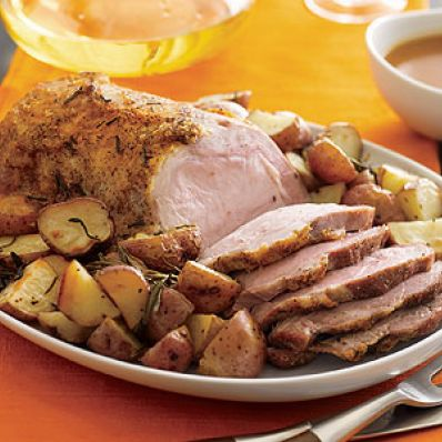 Roast Pork & Pan-roasted Potatoes