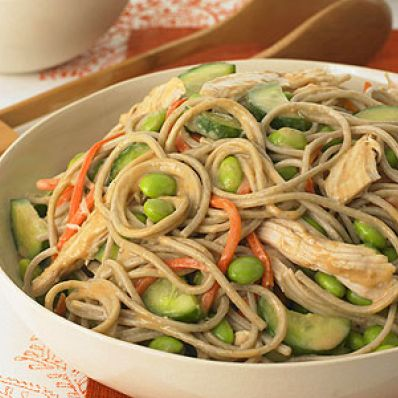 Nutty Noodles with Chicken