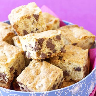 Nutty Chip Squares