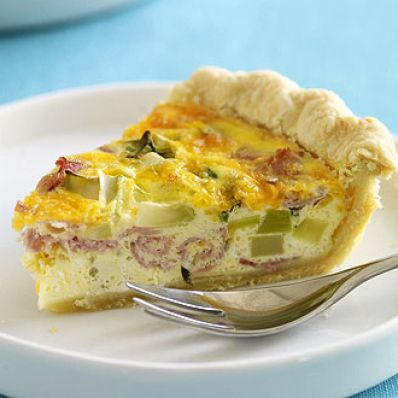 Broccoli & Ham Quiche