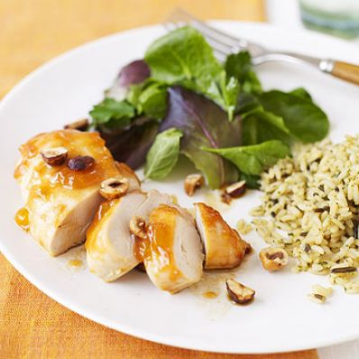 Apricot-Dijon Chicken