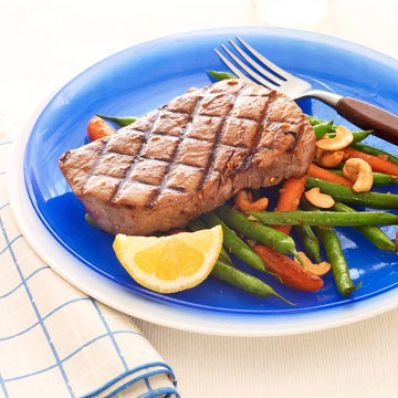 Five Spice Tuna & Sauteed Vegetables