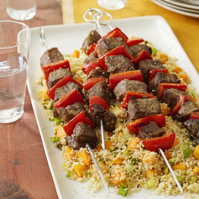 Skewers & Couscous