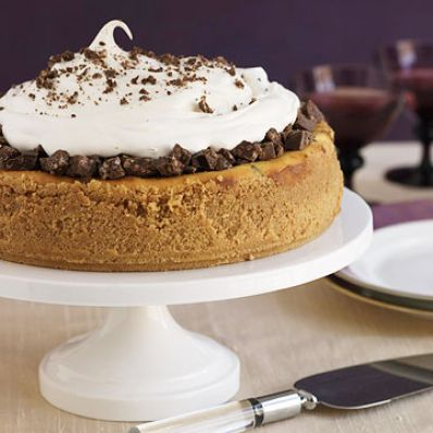 Chocolate-Crunch Cheesecake