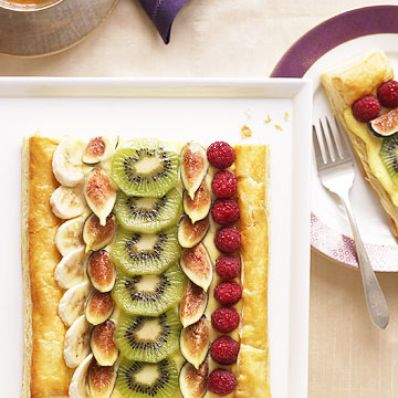 Banana Cream Fruit Tart
