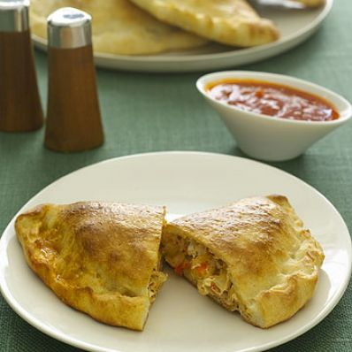 Sausage & Pepper Calzones