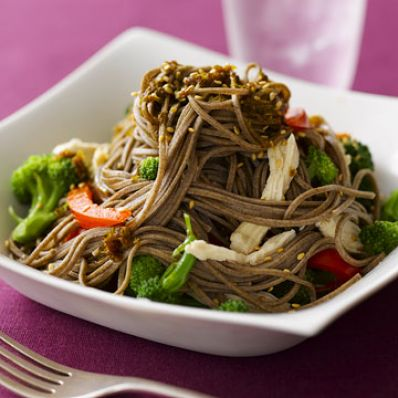 Chicken and Soba Noodles