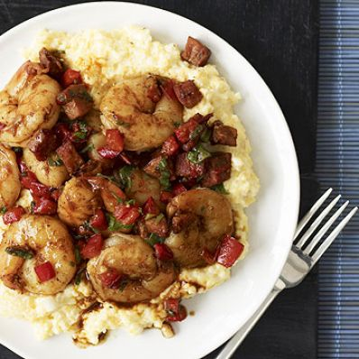 Spicy Low-Country Shrimp and Grits