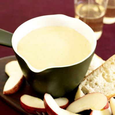 Swiss and Gouda Fondue