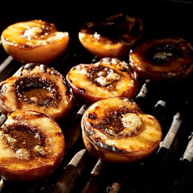 Grilled Georgia Peaches