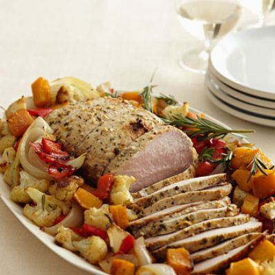 Harvest Pork Roast & Vegetables