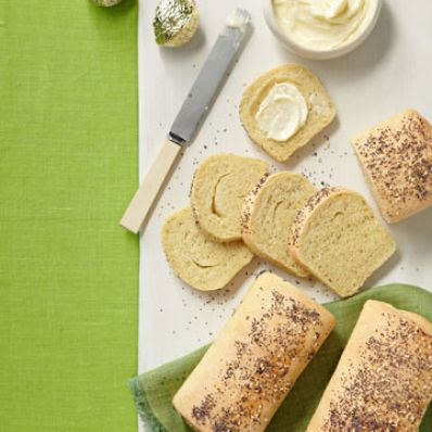 Poppy-Sesame Party Loaves